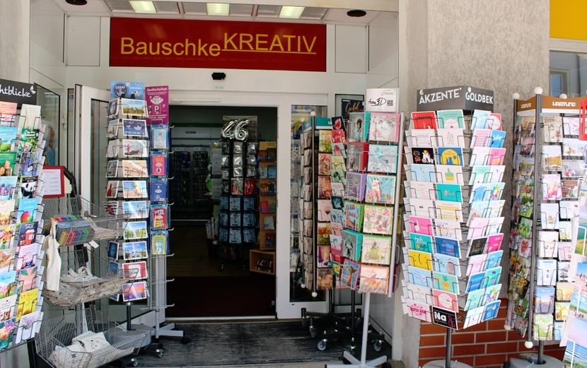Bauschke KREATIV – Eingangsbereich