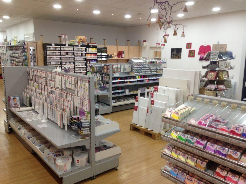 Der Bastel-Laden aus Siegburg – Innenansicht Geschäft