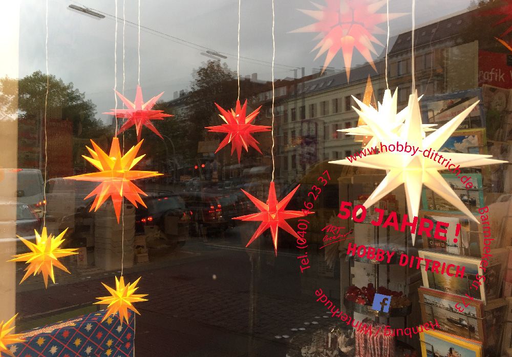 Hobby Dittrich – Thema Herrnhuter Sterne
