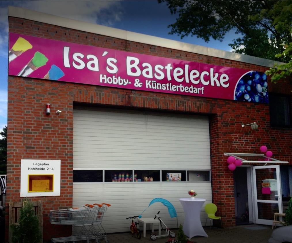 Isa's Bastelecke von außen.