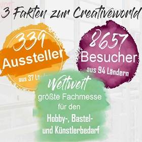 ART Creativ auf Creativworld 2018