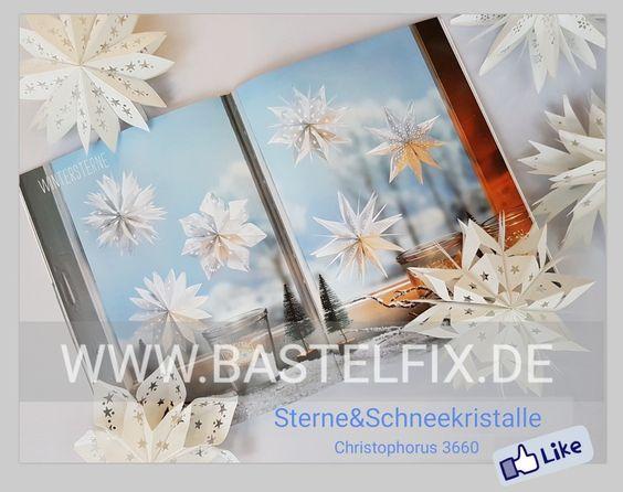 Bastelfix Rath – Sterne & Schneekristalle Buch aus dem Christophorus Verlag