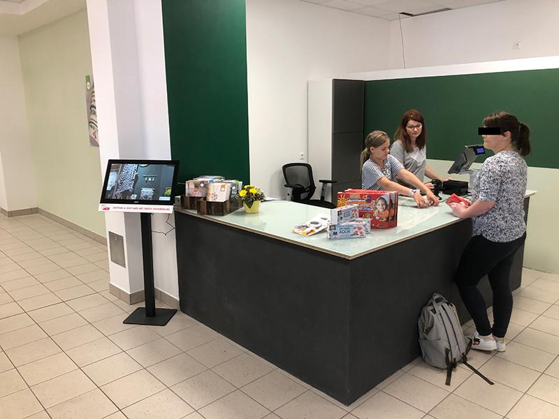Das Bastelzubehör Lüdenscheid – Kassenbereich