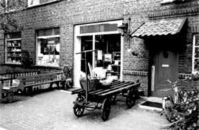 Werkladen Thiele früher vom Schreinerzubehör zum Bastelladen