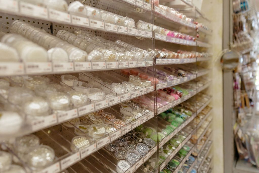 Werkladen Thiele – Sortiment Perlen