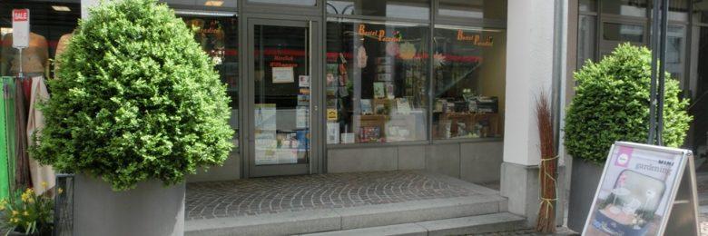 Bastelparadies Nürtingen – Außenansicht