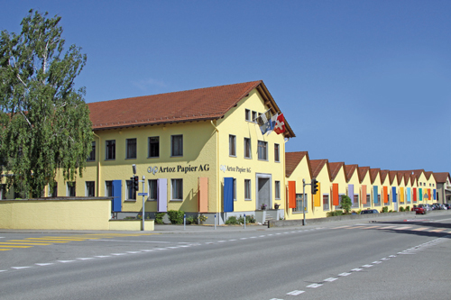 Artoz Papier AG aus der Schweiz