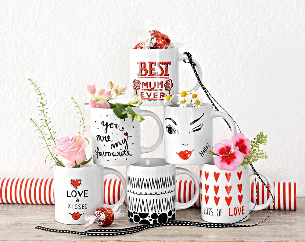 Marabu DIY-Tassen mit Herz