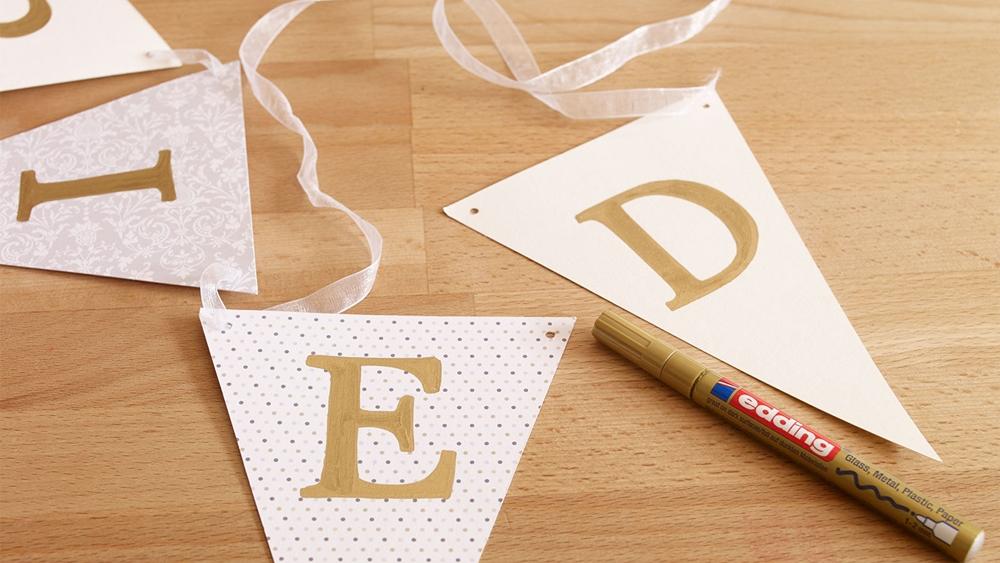Traumhochzeit in Weiß-Gold – Edding Hochzeit 4