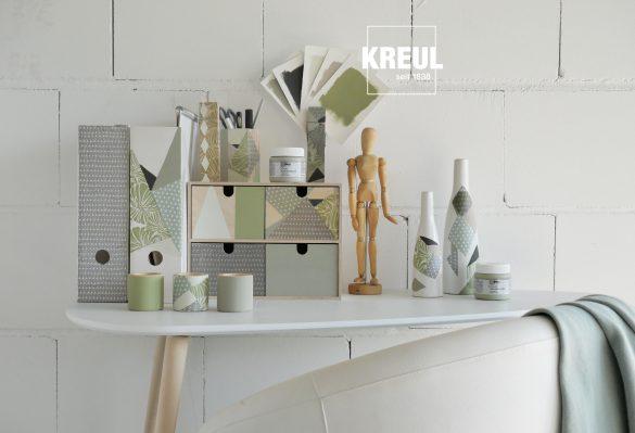 Wohlfühlen im Home Office mit Farben von Kreul