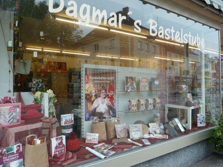 Dagmar's Bastelstube – Außenansicht vom Geschäft
