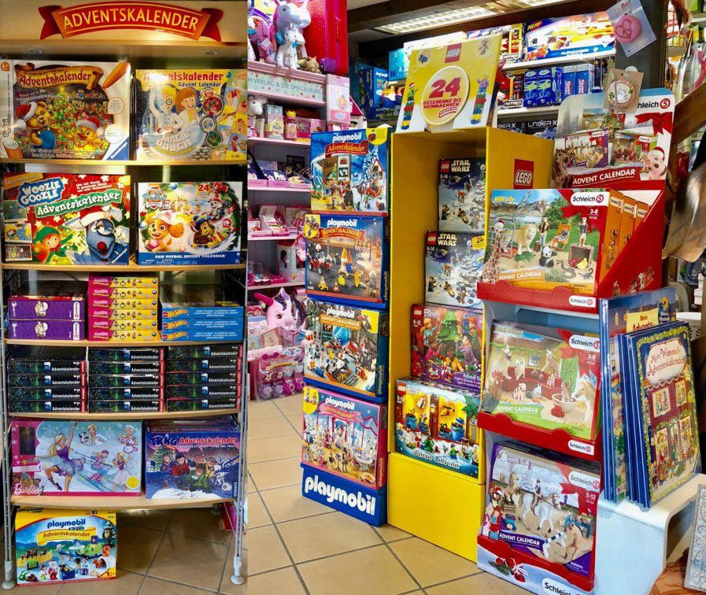 Papeterie Vögelie AG Einblick in die Spielwarenabteilung