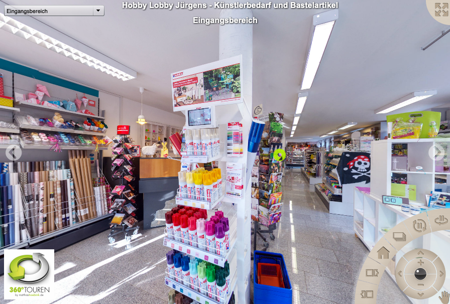 Hobby Lobby GbR – 360° Rundgang