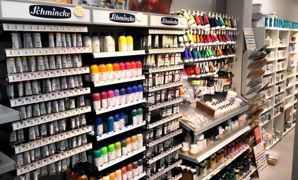 Kreativmarkt Rendsburg – Künstlerfarben
