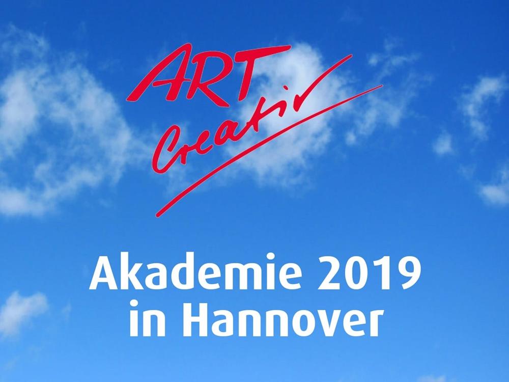 Hinweis auf die ART Creativ Akademie 2019