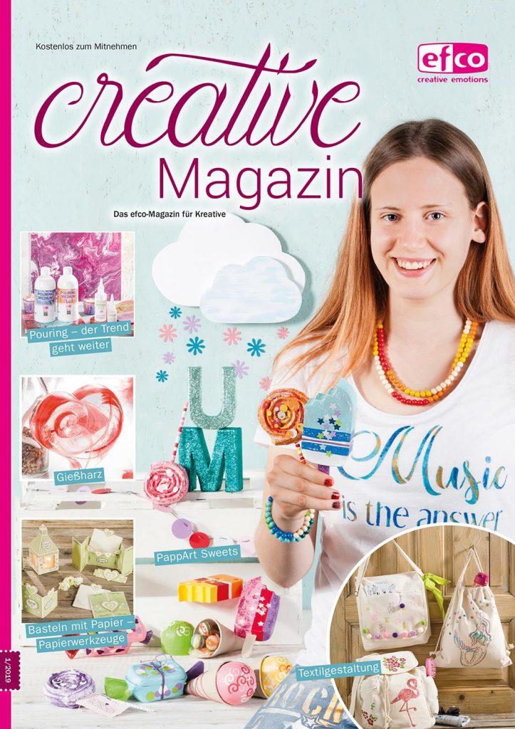 Vorstellung des Creative Magazin mit Blick auf das Deckblatt