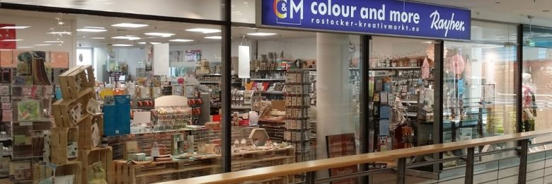 Shopping & RetailArts & Crafts Store «colour-and-more» (Росток, Германия)