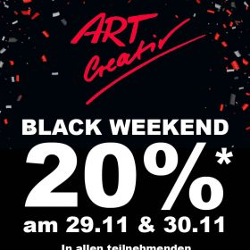 Black Weekend – tolle Rabatte!