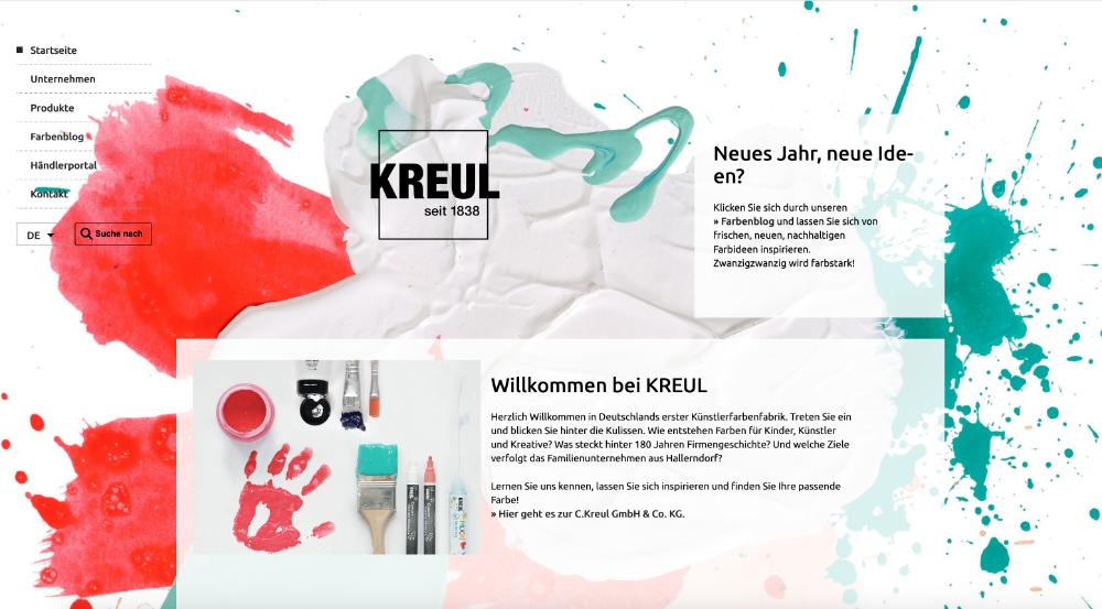 C. Kreul GmbH & Co. KG – die erste deutsche Künstlerfarbenfabrik