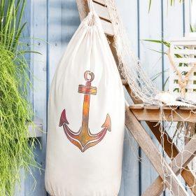 Strandtasche mit maritimen Motiv