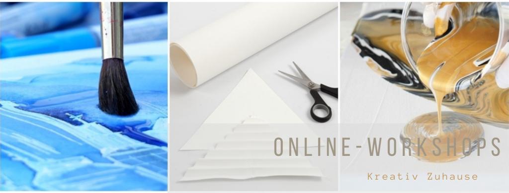 Online-Workshops mit Farben.