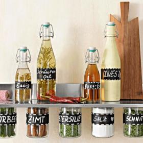 Essig & Öl — dekorativ und griffbereit