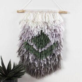 Wandbehänge kunstvoll geknüpft