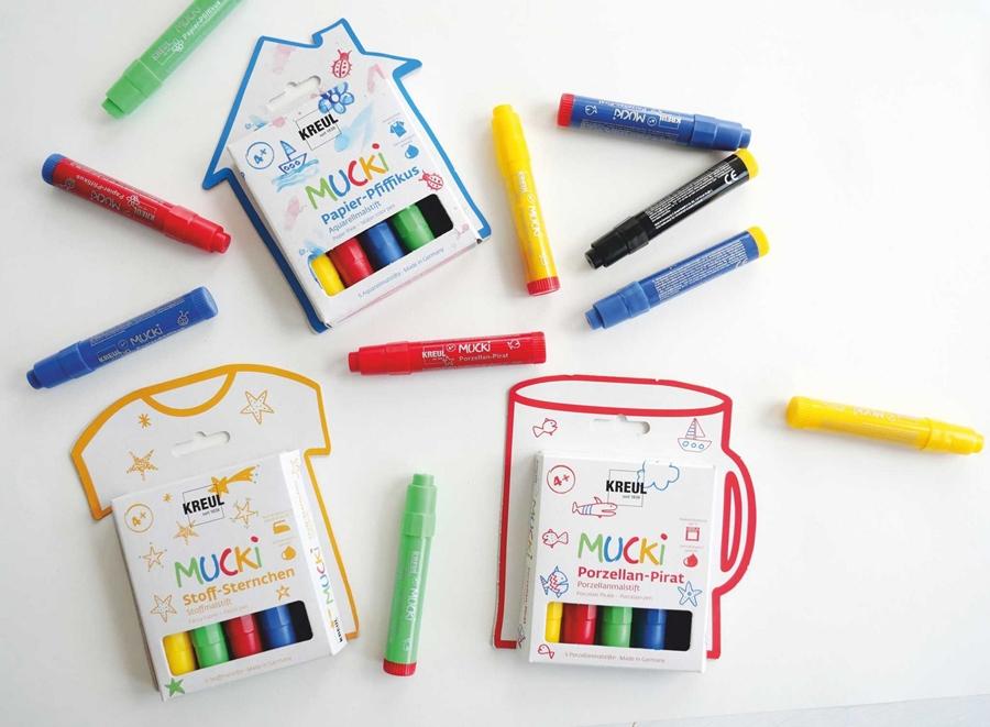 3 Mucki Farbensets