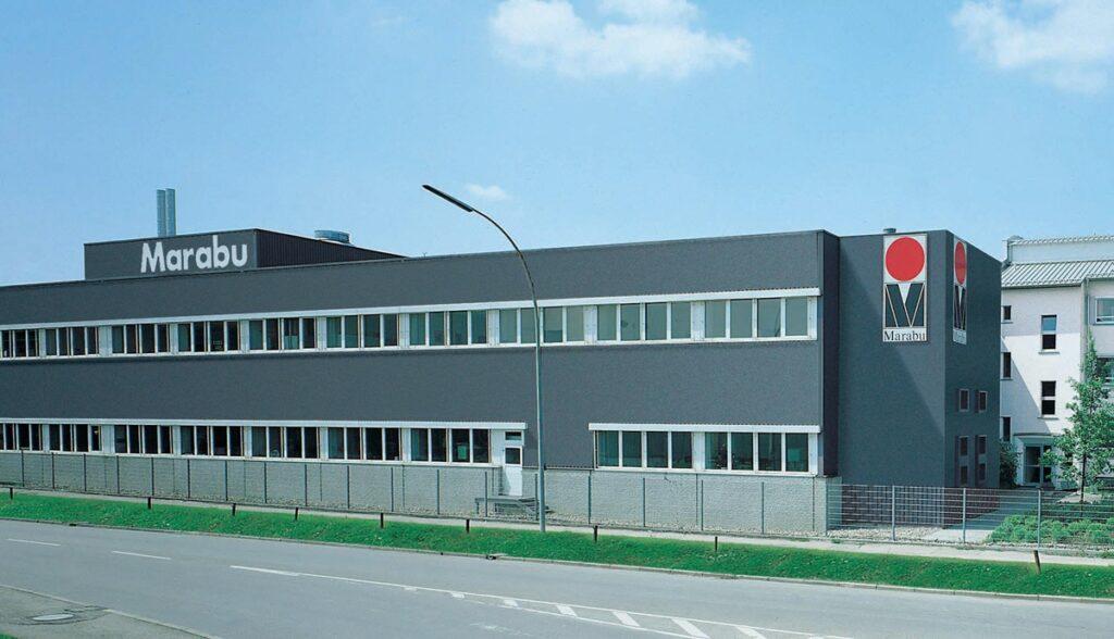 Gebäudeansicht der Firma Marabu